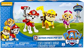 Paw Patrol 幼犬玩具套装,3只,Marshal, Skye, Rubble