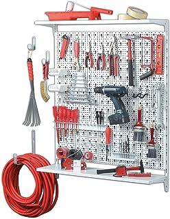 Element System ORGANIZER 3 金属工具墙 72 件 包括螺钉和销钉 白色