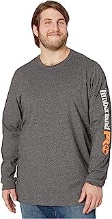 Timberland 添柏岚 PRO 男式 Big & Tall Base Plate Blended 长袖 T 恤带标识(Big/Tall )