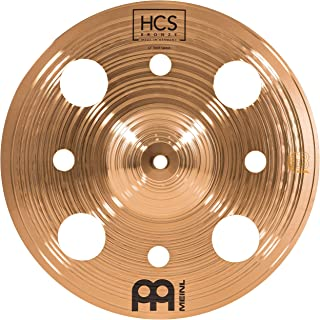 Meinl Cymbals 30.48 厘米垃圾桶带孔 – HCS 传统抛光青铜鼓套装,德国制造,2 年保修(HCSB12TRS)