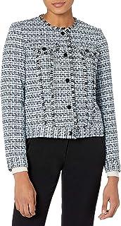 Karl Lagerfeld Paris 女式粗花呢夹克