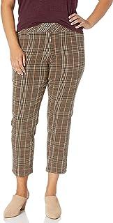 SLIM-SATION 女式加大码套穿及踝裤,前后无痕