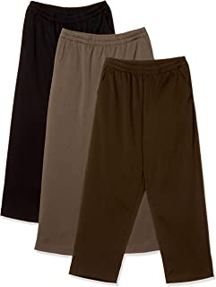 BELLUNA 大尺寸 杂色风格 轻松 内起绒裤 3条装 下裆53厘米 女款 115002