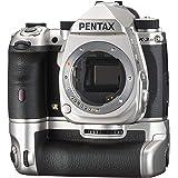 PENTAX K-3 Mark III APS-C DSLR 银色优质套件,限量版 - 全球 1000 件 - 包括电池…