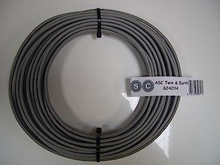 航空器、卫星和电缆 2 米 6 毫米双线和地球电线