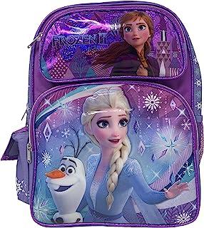 "Disney 冰雪奇缘 2 Elsa & Anna 儿童背包 16"" 大包 20206"