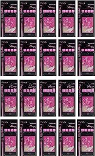 iPhone4/4S 香 液晶保护膜 玫瑰 (黑色) 20枚套装 日本制造 SA-F220