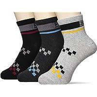 GUNZE 郡是 EDWIN 襪子 COOL 短款 3雙裝 男士 EWM038