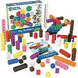 Learning Resources MathLink Cube 大型建筑玩具,富有想象力的游戏,学习数学技能,200个…