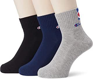 Champion 袜子 短筒袜 背部标志 3双装 CMSCN202 男士