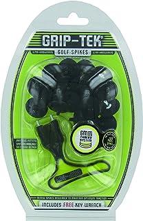 Grip-Tek 金属螺纹高尔夫鞋钉 - 黑色,6 毫米