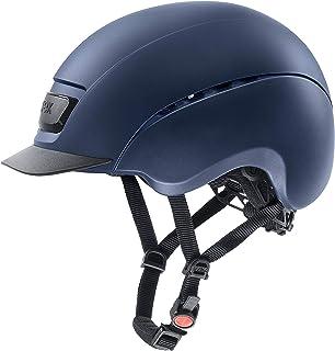 uvex 中性 – 成人,elexxion 骑马头盔,黑色哑光-黑色垫