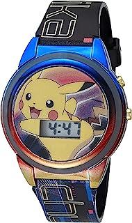 Pokemon 宝可梦 男孩 石英手表 塑料表带 多色 15(型号:POK1356AZ)