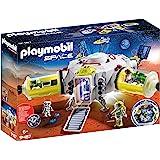 PLAYMOBIL 摩比世界 Space 火星站拼插玩具 9487,适合6岁以上儿童