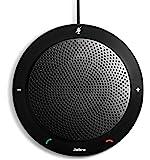 Jabra捷波朗 Speak410 USB 扬声电话 可使用Skype,Lync 和其他VoIP电话 零售包装 黑色