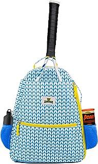 女式网球背包 – 轻质网球拍袋可存放 2 个球拍、球拍和运动装备