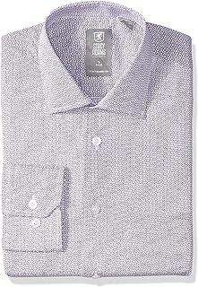 STACY ADAMS Men's Circles Print Modern Fit Dress Shirt