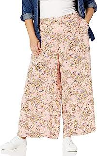 Jessica Simpson 女士 Saydee 时尚松紧阔腿裤