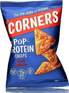 Corners Pop Protein Crisps, Sweet Barbeque, 0.5 kg