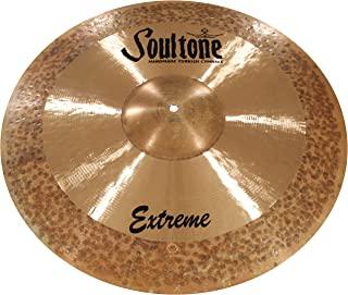 Soultone Cymbals Extreme,19.5 英寸(约 49.5 厘米)吊镲(EXT-CRR19.5 厘米))