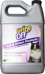 urineOFF 猫用除臭剂和去污剂,1 加仑 3.78升