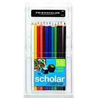 Prismacolor 92804 Scholar 彩色铅笔(12支装)