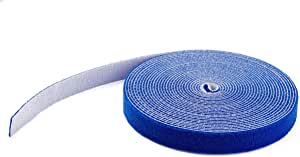 StarTech.com 魔术贴 30.5米 蓝色 电缆扎带 魔术贴 HKLP100BL