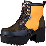 [YOSUKE] 厚底系带短靴 厚底系带短靴 女士 2600785