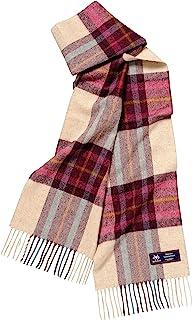 丸真 围巾 英国 MOON社 使用羊毛材质 バックデン 25×180cm 0385017000