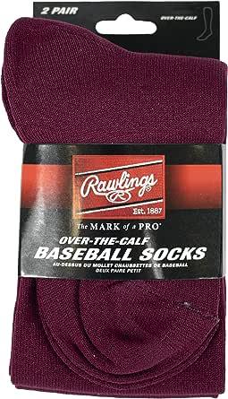 Rawlings 棒球袜 2 双装