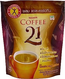Naturegift 速溶咖啡混合 21 Plus 左旋肉碱*饮食(13.5 克 x 10 袋)X 3 包