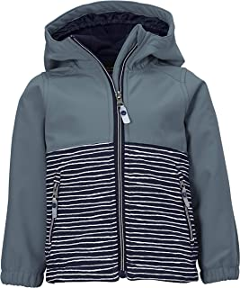 Killtec Unisex Kinder Mini Softshell Jacke Softshelljacke/Outdoorjacke mit Kapuze