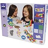 Plus-Plus 9603812 玩具迷你拼插积木,Learn to Build Super 粉彩积木套装,1200块…