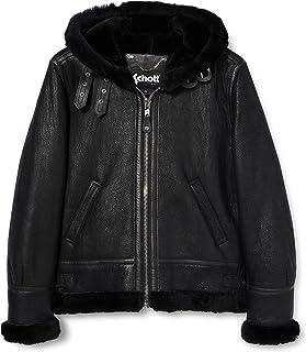 Schott NYC 女式皮夹克