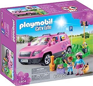 Playmobil 摩比世界 City Life 9404 家庭小汽车 带车位道具,适于5岁以上儿童