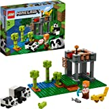 LEGO 乐高 我的世界 熊猫保育园 21158