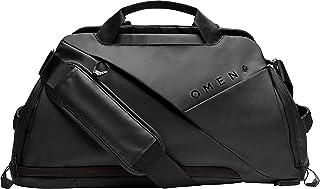 OMEN Transceptor Duffle Bag ( 17.3 英寸 ) 游戏背包(软垫笔记本电脑隔层,电缆管理,RFID 袋)黑色