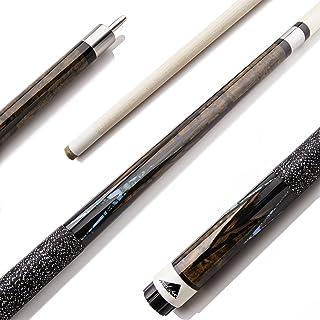 Mizerak 147.32 厘米优质枫叶台球杆不锈钢接头和 8 层皮革尖头 - 2 件