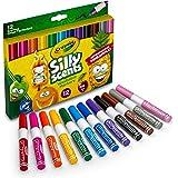 Crayola 绘儿乐 Silly Scents 楔形尖端可洗记号笔,12色