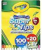 Crayola 绘儿乐 *提示马克笔套装,可水洗,多种颜色,120 支