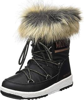 Moon Boot MB Jr Girl 摩纳哥低帮防水鞋,女童雪地靴,多色