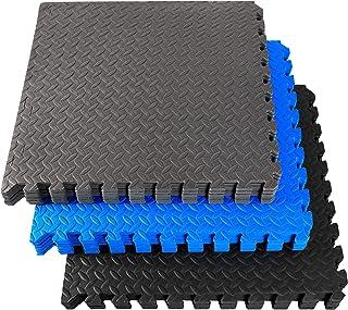 Fitem 地砖由 Eva 泡沫制成,优质 & 环保 - 拼图垫 - 地板保护 - 运动 - 游泳 - Crossfit - 力量训练 - 健身房 - 花园 - 室内 - 室外 - 60 x 60 x 1 cm