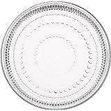 Iittala Kastehelmi 盘子 17厘米 透明