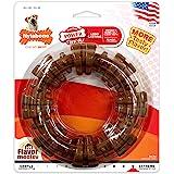 Nylabone Dura Chew Large Textured Ring Bone Dog Chew Toy