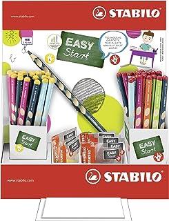 STABILO 思笔乐 330/72-2HB 铅笔 EASYgraph,72 支笔和 12 只卷笔刀