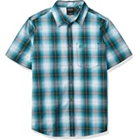 Jack Wolfskin Hot Chili 衬衫 M,男士衬衫,适合旅行和休闲,舒适的男士格子衬衫,格子衬衫,棉质衬…