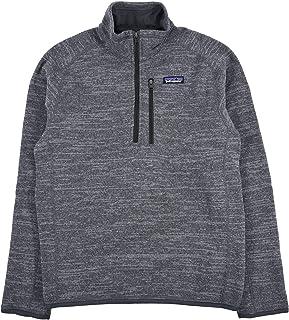 Patagonia 男士 Better Sweater 1/4 拉链抓绒衫 - 镍色