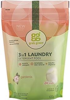 劫掠绿色 - 3 在 1 洗衣粉荚 24 荷载栀子 - 15.2盎司
