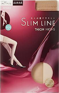 ATSUGI 厚木 长筒袜 SLIM LINE 大腿长度 长筒袜 (3双装)