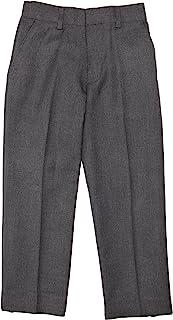 Trutex Limited 男童弹性背部纯色长裤